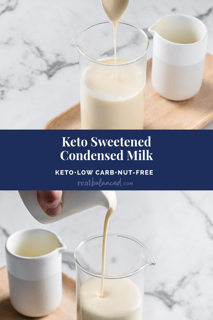 Keto sweetened condensed milk recipe keto nutfree