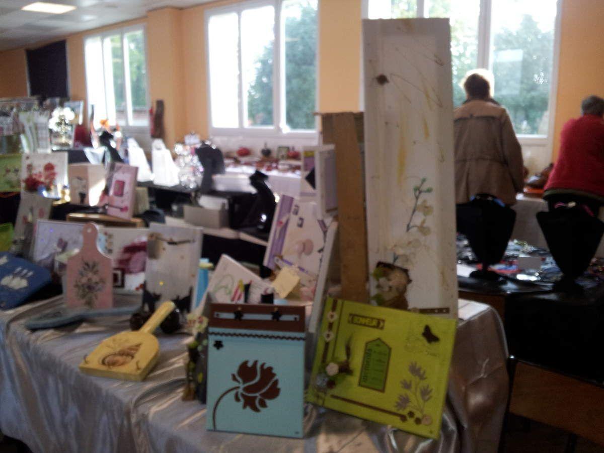 Salon des arts créatifs de Saint Pierre des Ifs 2015