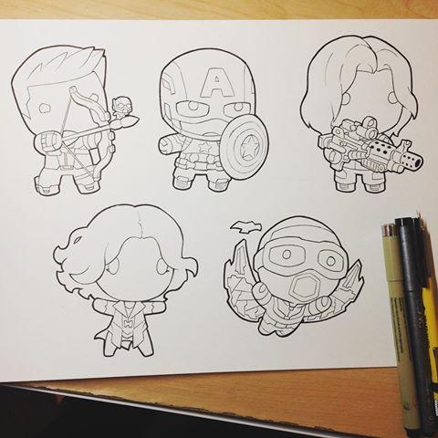 Kevin Raganit Kevinraganit Instagram Photos And Videos Marvel Cartoon Drawings Cartoon Drawings Drawing Superheroes