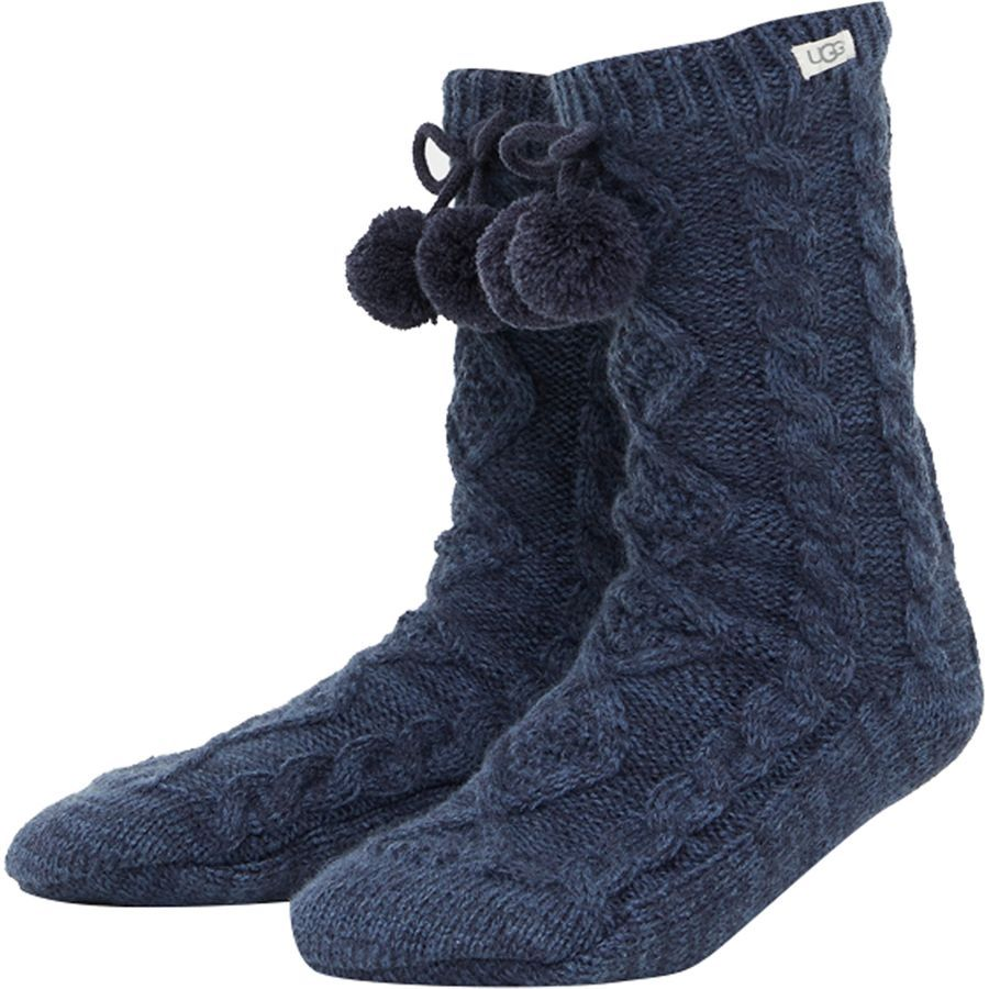 85c25516c46 UGG Pom Pom Fleece Lined Crew Sock - Women's   Gifts for Women ...