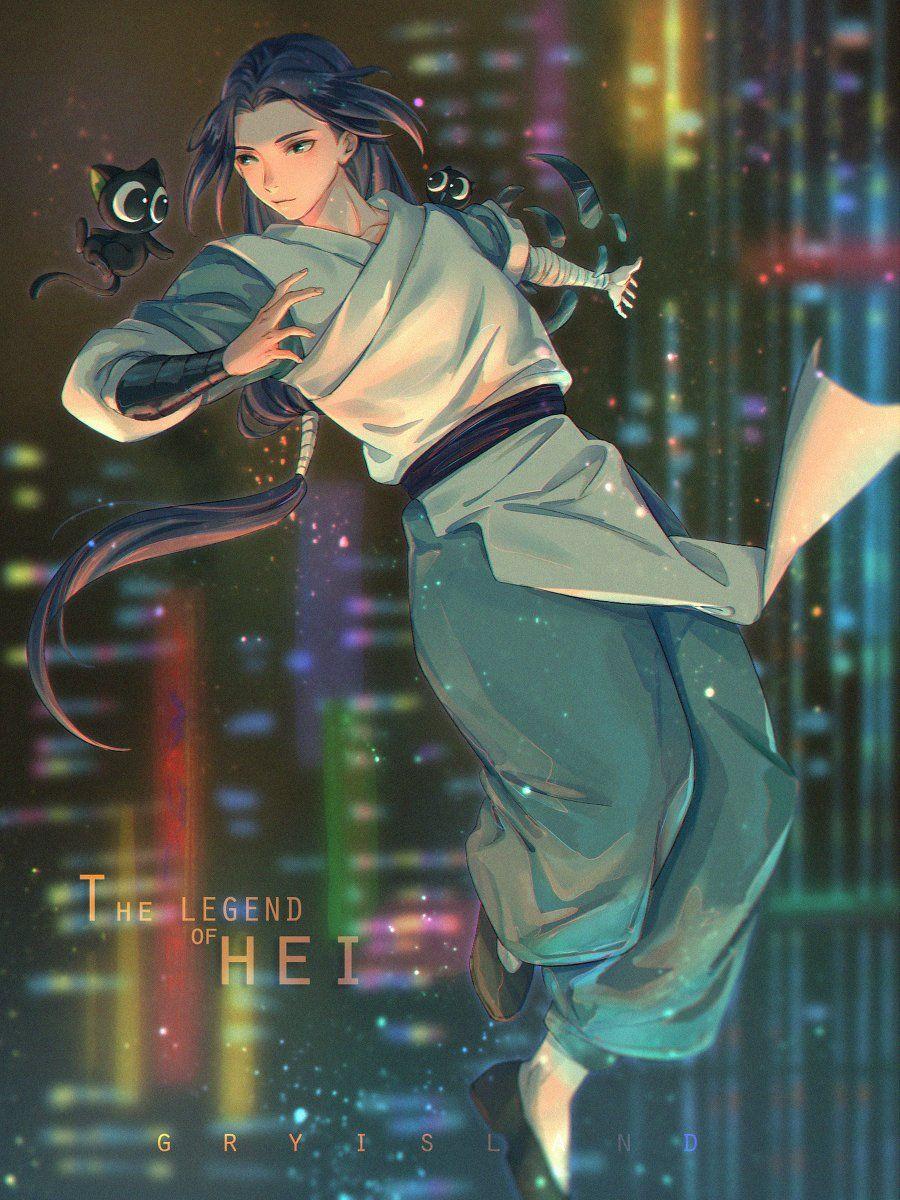 火山群鳥_ on Twitter in 2020 Ancient chinese art, Anime guys