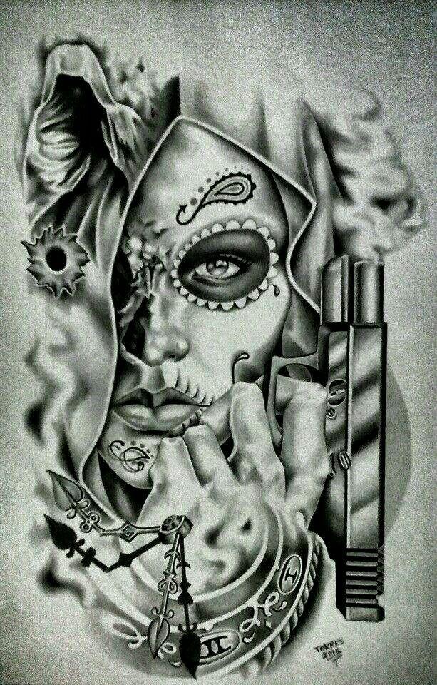 Mexican Hand Drawn Doodles Set Kleine Tattoos 10