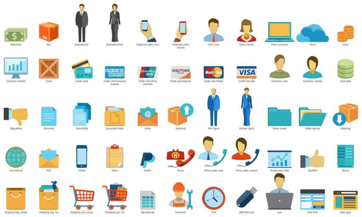 Design elements sales symbols marketing sales flowcharts flowchart design elements sales symbols nvjuhfo Choice Image