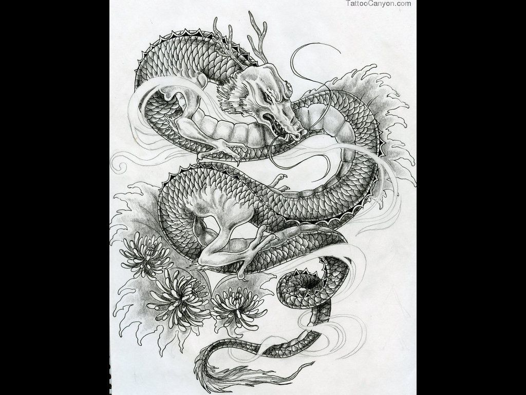 Chinese Dragon In Ocean Wallpapers best wallpapers | HD Wallpapers ...