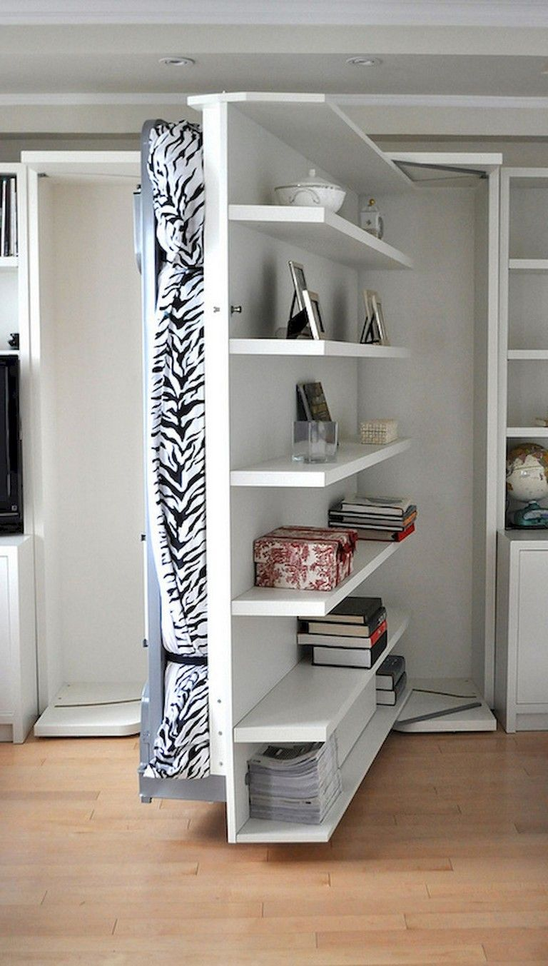 Organize Living Room Ideas: 48+ Easy DIY First Apartment Storage Ideas On A Budget