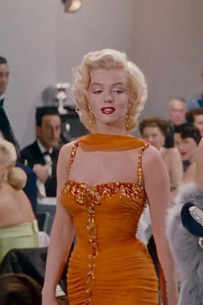 1953: 'Gentlemen Prefer Blondes' - The Best Fashion From Vintage Movies - It's Rosy