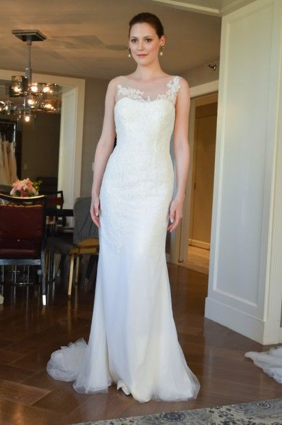 Anne barge 2015 bridal collection little white dress for Wedding dresses in denver co