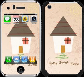 iPhone 3 / 3GS için Ozi Ev Kapak