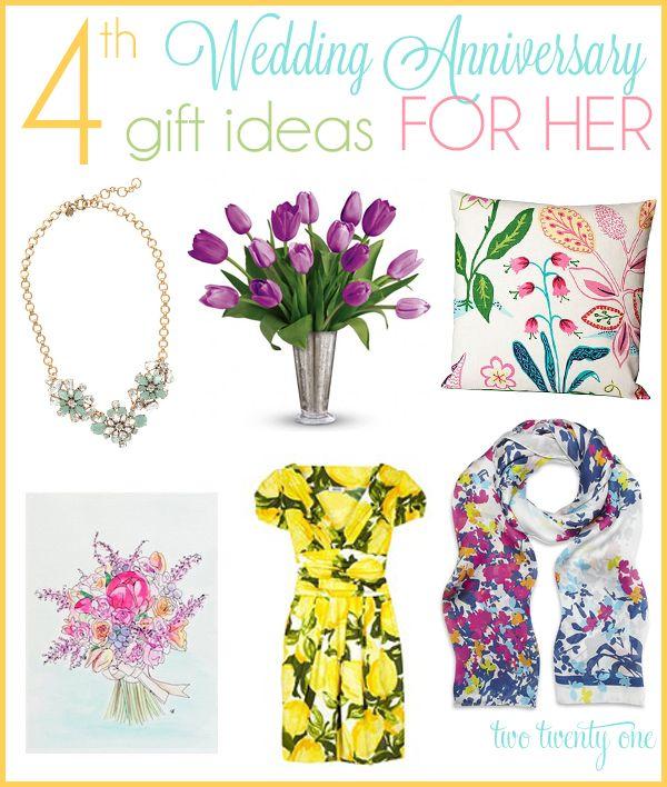 4th Wedding Anniversary Gift Ideas: 4th Wedding Anniversary, 4th