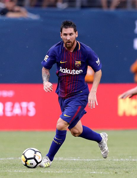 2917da8a6f5 ... Photos Photos - Lionel Messi  10 of Barcelona takes the ball in the  first half against Juventus during the International Champions Cup 2017 on July  22