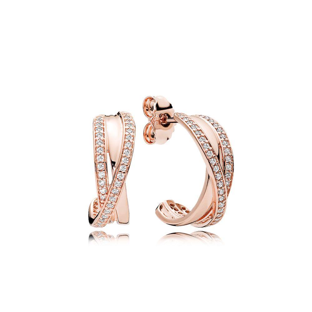 Kolczyki Pandora Rose Cyrkonia Szesciennaw Harmonii Miedzy Klasycznym Stylem I Nowoczesnymi Rozwiazaniami Te Pandora Earring Charms Pandora Earrings Earrings