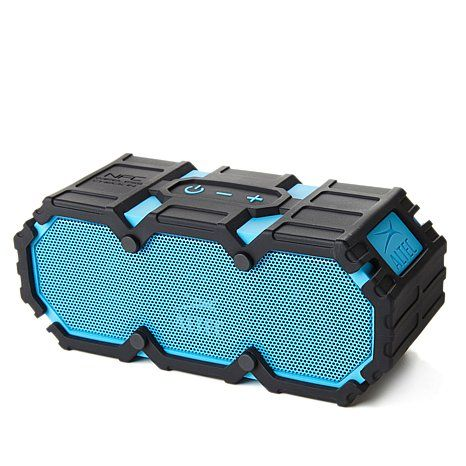 What S The Most Badass Outdoor Bluetooth Speaker Check It Out For More Pins On Rugged Port Outdoor Bluetooth Speakers Portable Speaker Design Altec Lansing