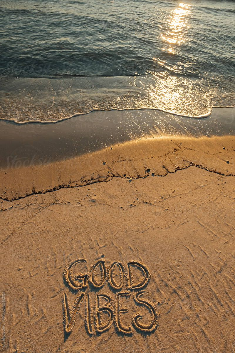 Good Vibes at the Beach by Maryanne Gobble  - Stocksy United