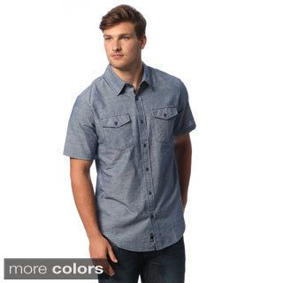 Burnside Men's Chambray Short-sleeve Shirt | view below some of ...