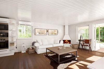 Resultado de imagen para techo de madera blanco dise o - Techos de madera blanco ...
