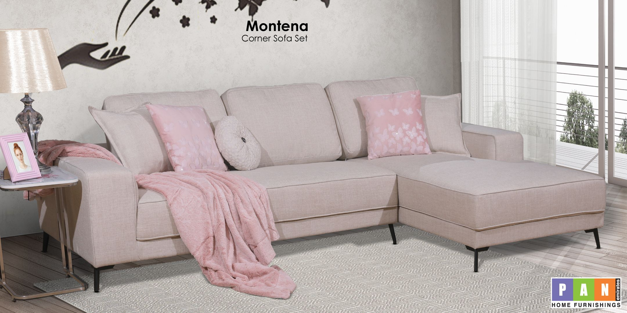 This Chic Corner Sofa Is Sure To Highlight Your Pep Life Go Funky This Spring Amp Your Living Room With The Warmth Of Thi Cozy Sofa Home Furnishings Sofa Set