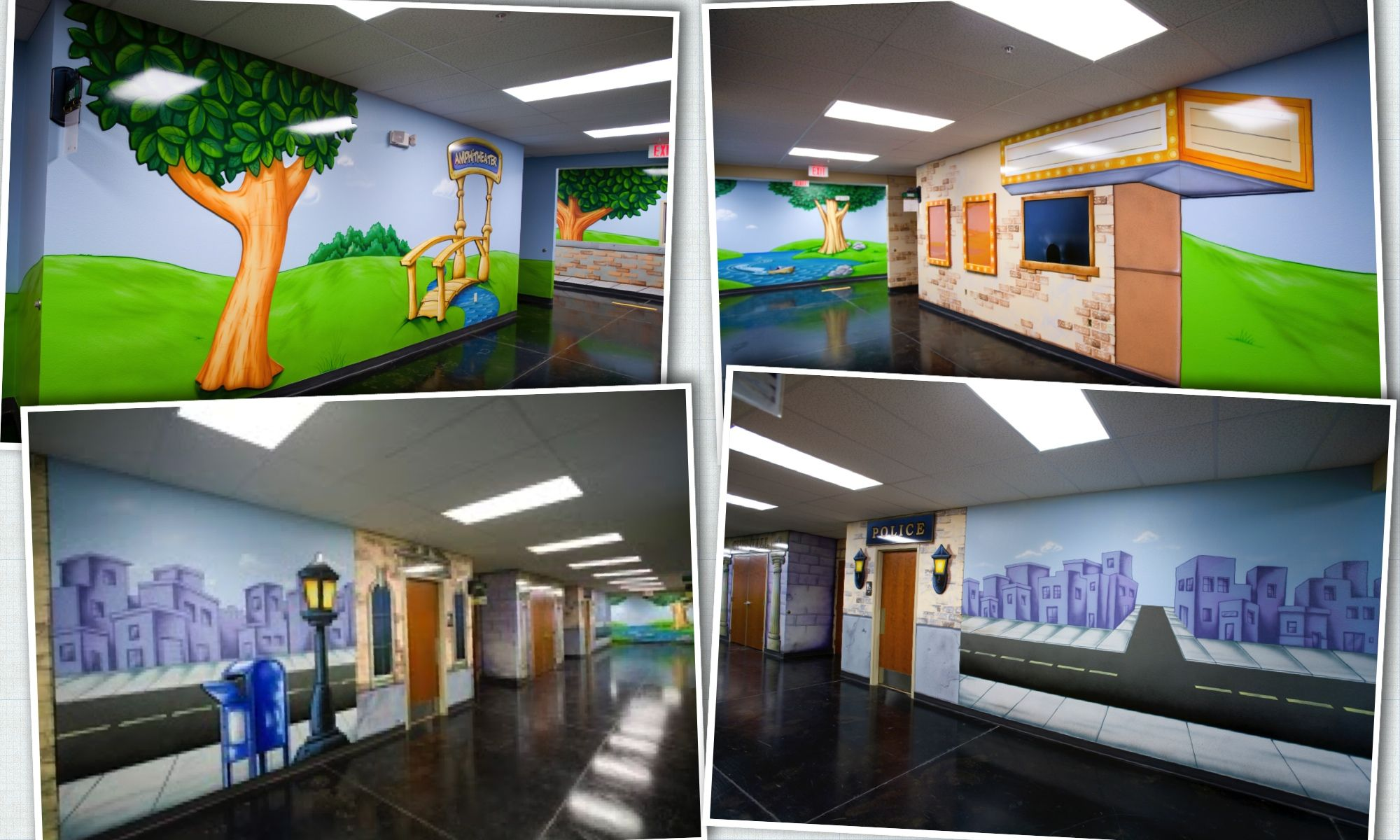 City Church Theme For Your Childrens Ministry Space
