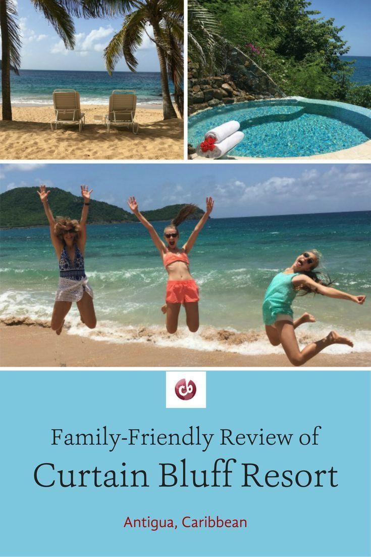 Curtain Bluff Resort Review Kids Vacation Kid Friendly Resorts