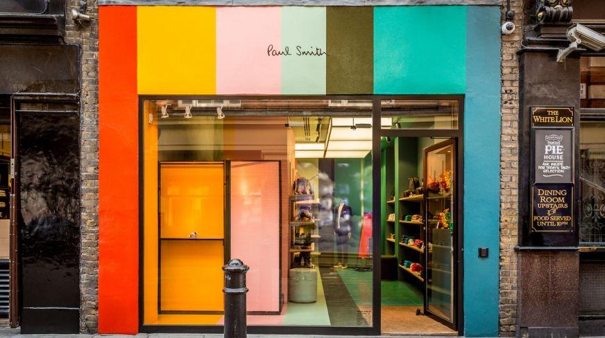 Paul Smith Floral Street Covent Garden Retail Design Shop Front Design Shop Interior Design