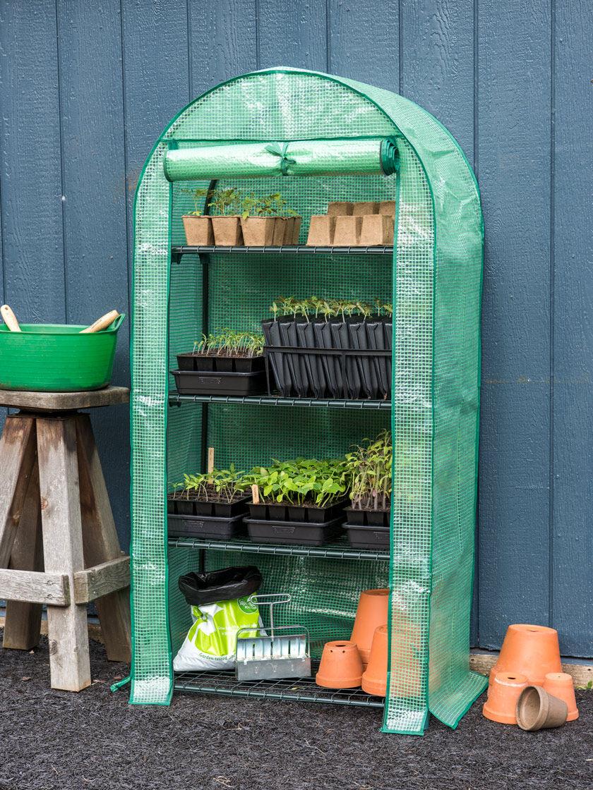 Mini Greenhouse Patio Greenhouse Gardener S Supply Mini