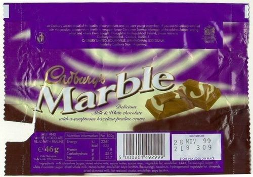 Cadbury's Marble | 37 Foods And Drinks From Your Childhood That You'll Never Taste Again