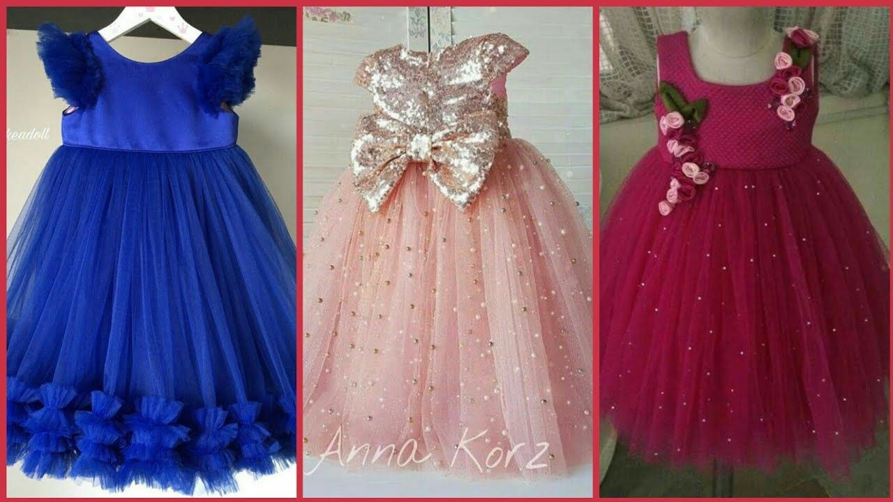 Princes Baby Frocks Designs 2018 - Latest Kids Birthday Outfit ...