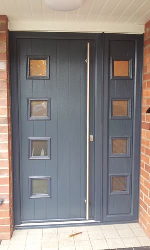 Solidor Milano High Security And Energy Efficient Composite Doors Modern Homedevelopment Wood Eco Friendly