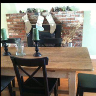 Farmhouse table, I love you