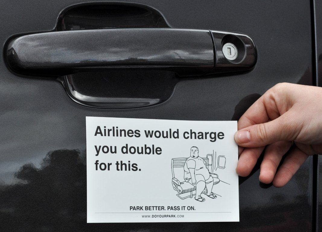 Do Your Park Magnets - Bad Parking Tickets - http://www.crackformen ...