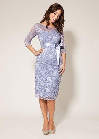 25d0957ba50c Amelia Maternity Dress Short Misty Lilac Pregnant Wedding Dress