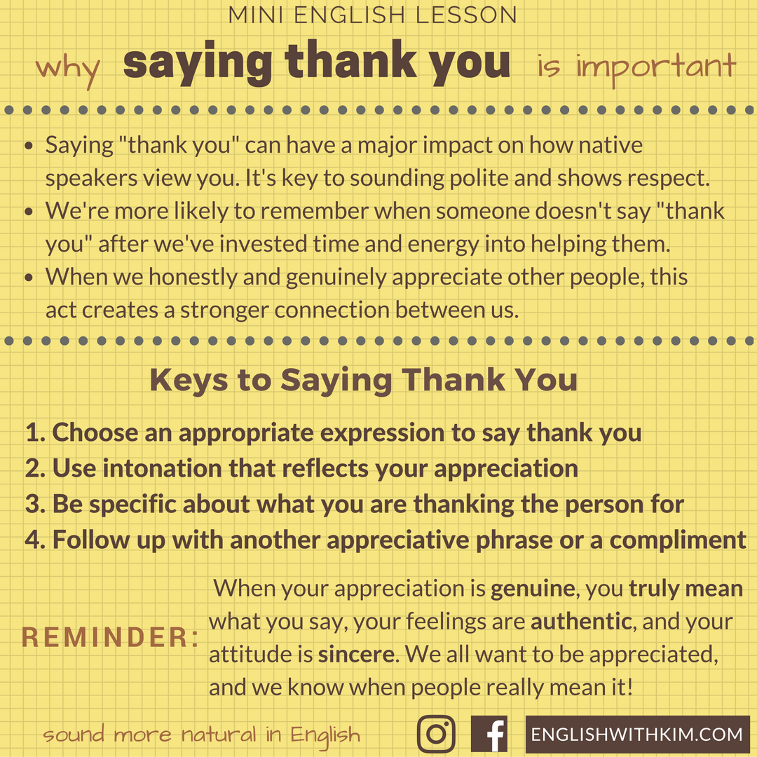 how to show appreciation to others