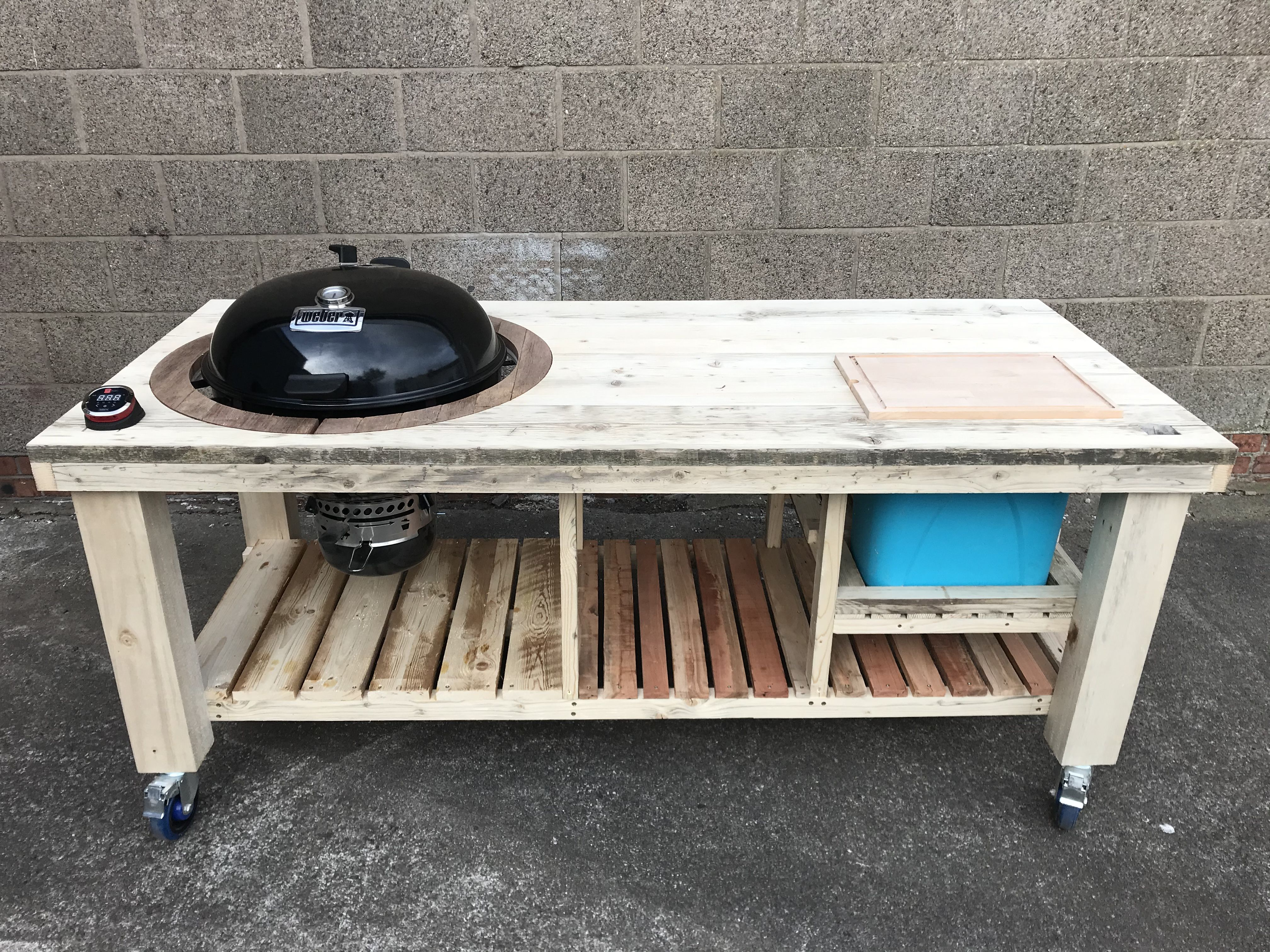 BBQ table by Armadillo Works, Fife Scotland in 2020 | Bbq ...