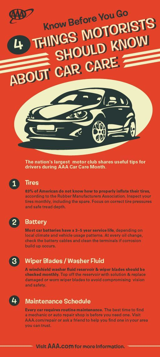Aaa Car Care Month Infographic Car Care Car Safety Auto Repair