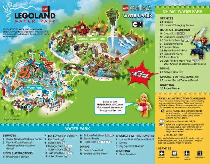 Lego Legends Of Chima Water Park At Legoland California