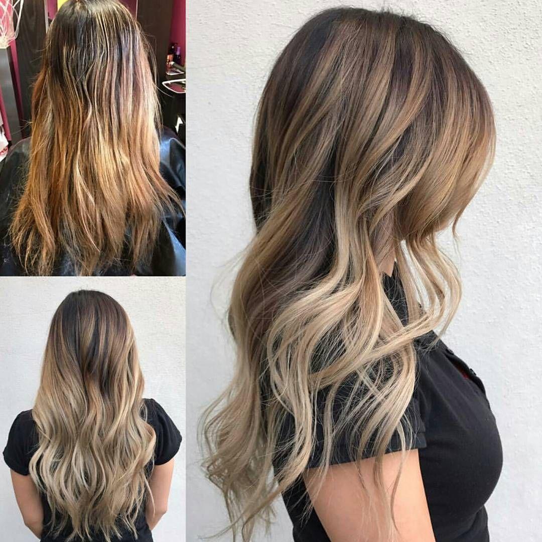 Balayage Color Correction Braids Curls Hair Tips Pinterest