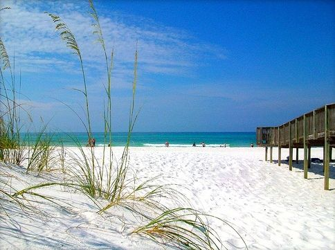 Beautiful Mexico Beach Florida Along The Forgotten Coast Panhandle Area Cleanest And Most Natural Beaches In