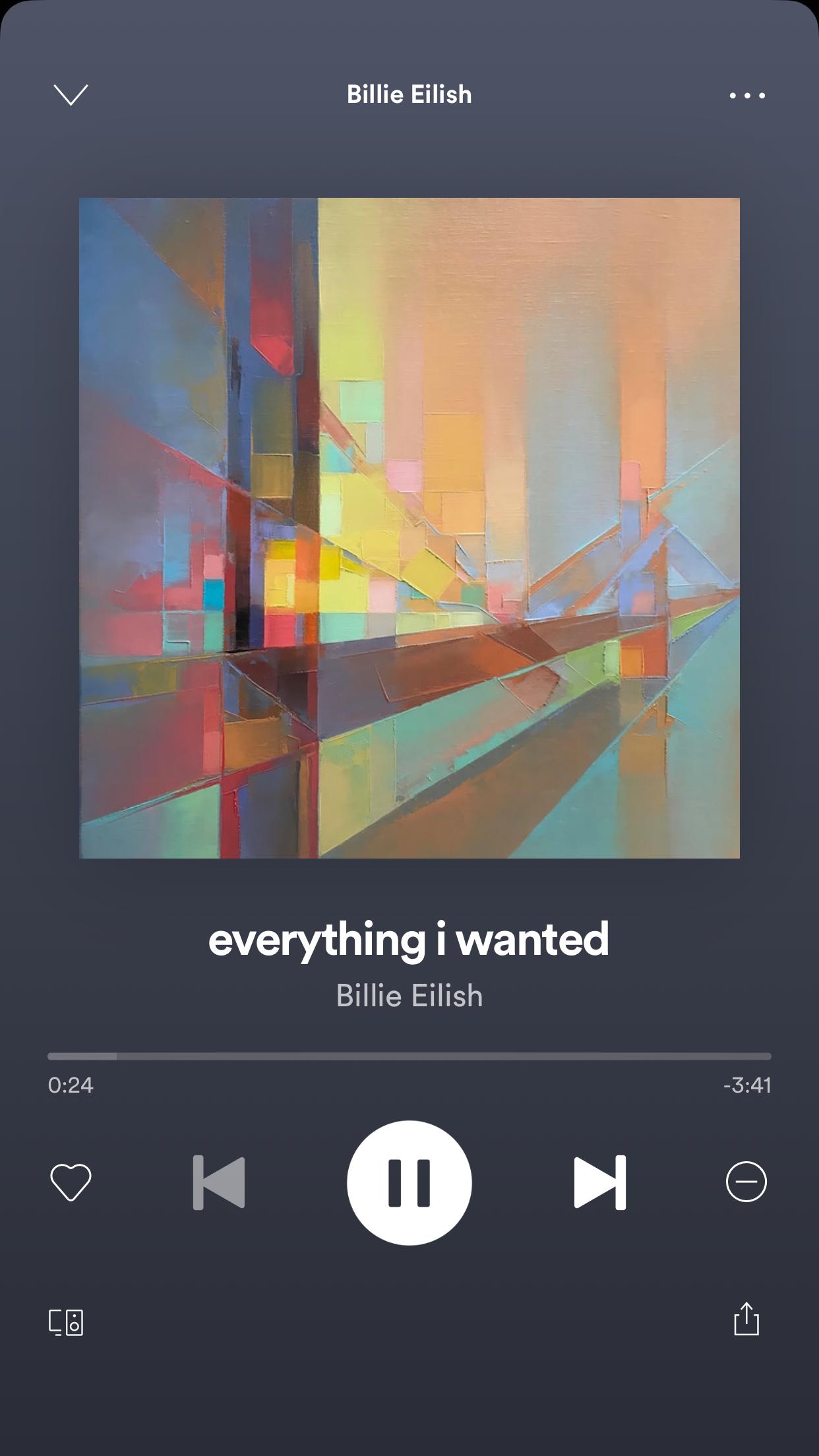 #everythingiwanted #billieeilish #billie #eilish #song # ...