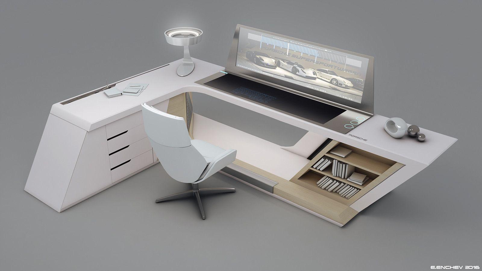 Porsche Desk V0.2, Encho Enchev