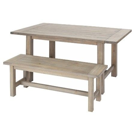 Gilford Dining Table And Bench Collection Wood