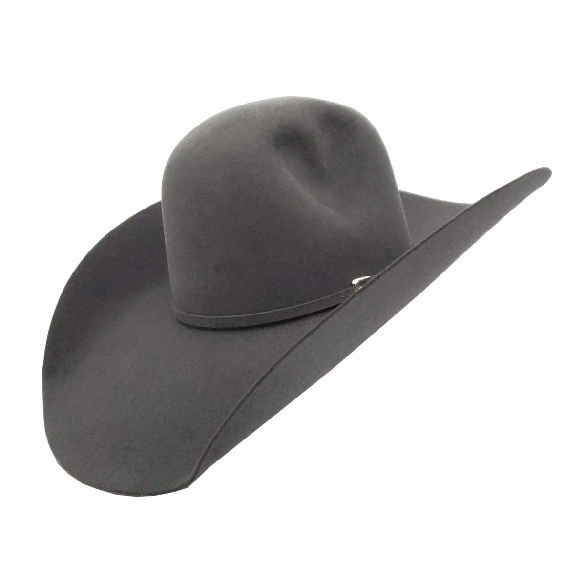 c7c2114123be2 Rodeo King Charcoal Felt Cowboy Hat Available In 4 1 4