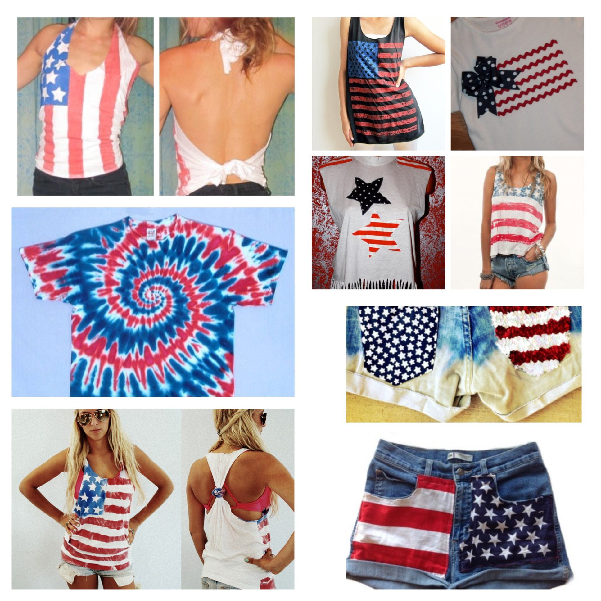 Diy Fourth Of July Clothing Ideas Leslie Riemen Payne For You And