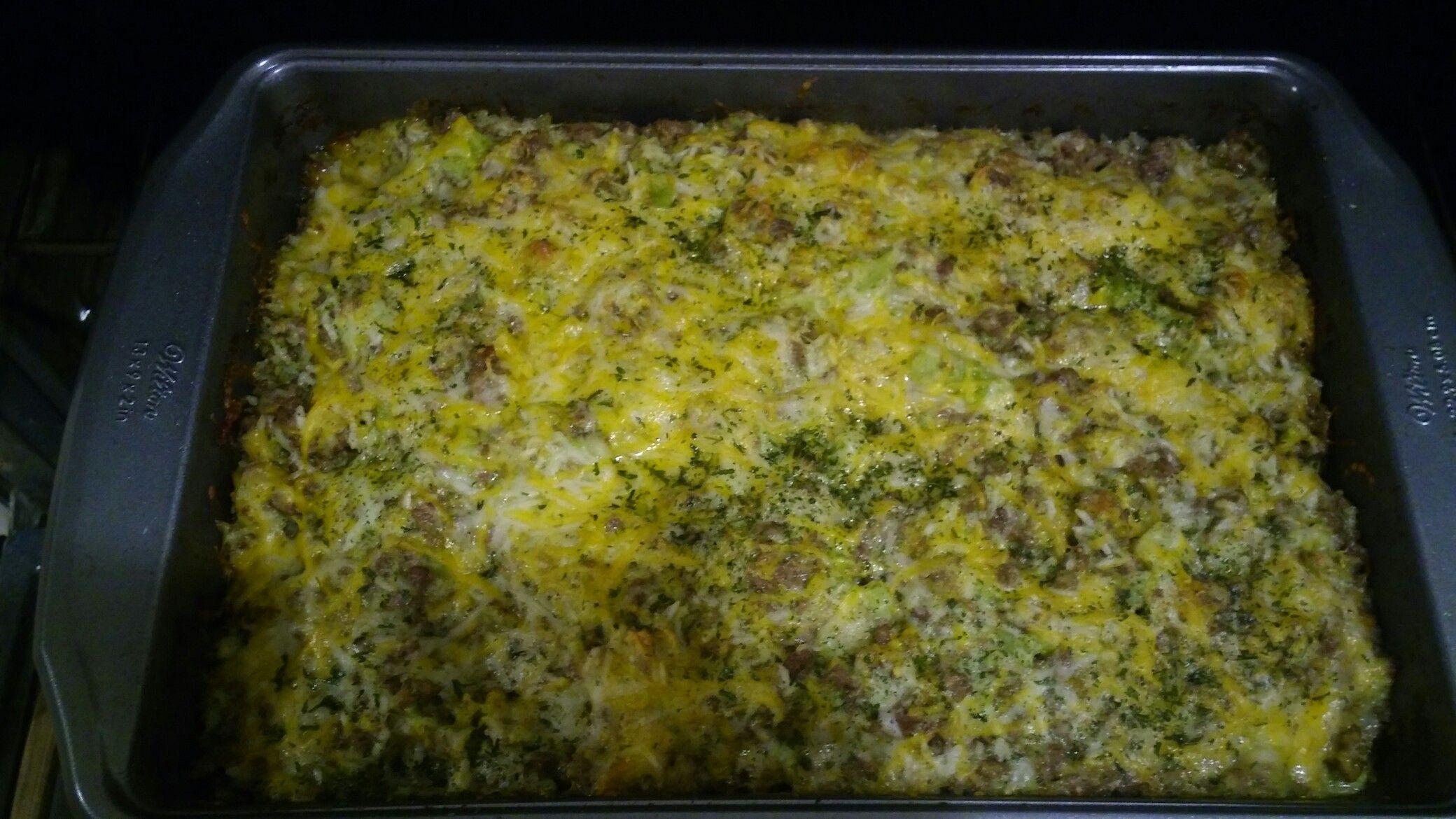 Chessy Broccoli Casserole!!