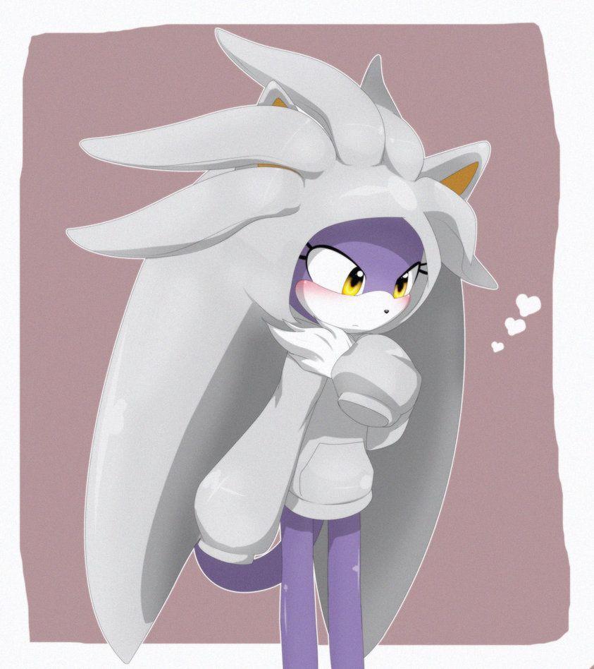 I M Sorry But That Is Blaze The Cat Wearing A Silver Hoodie I M Done Sonic Art Sonic Fan Art Sonic Fan Characters