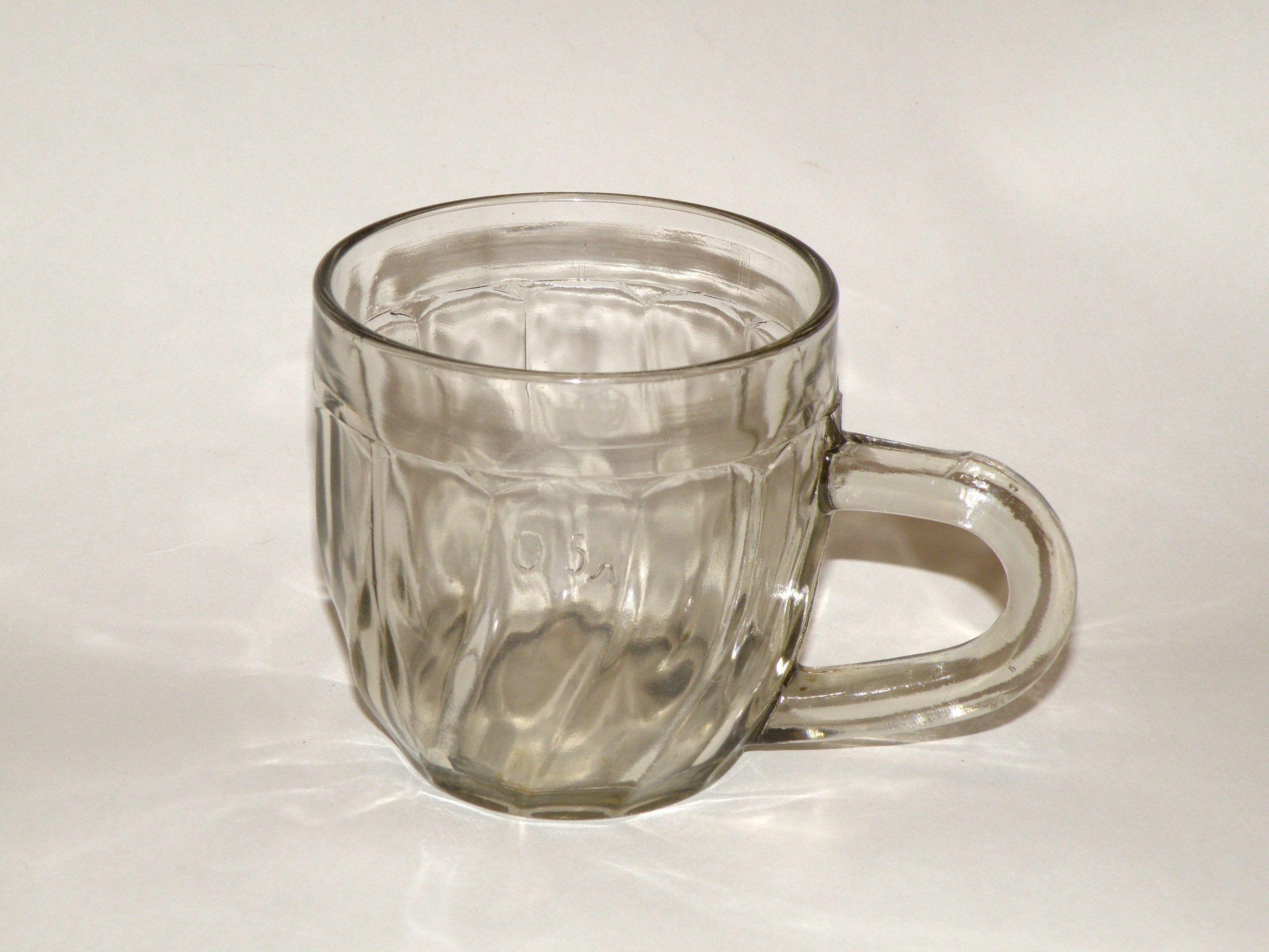 Rare 0 5 L Glass Beer Mug Pint Soviet Large Beer Mug 16 9 Fl Oz