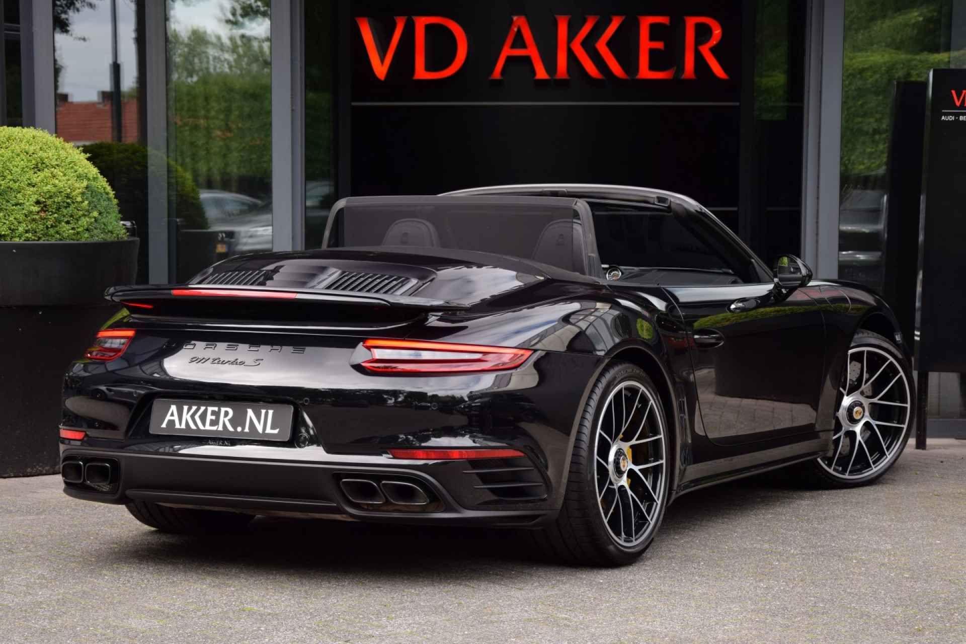 Porsche 991 Turbo S Cabriolet Occasion Vd Akker