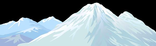 Winter Snowy Mountain Transparent Png Clip Art Image Art Images Clip Art Snowy Mountains