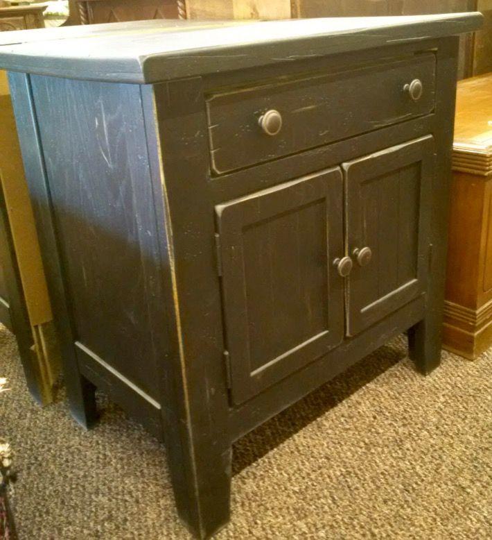 Broyhill Attic Heirlooms Nightstand In Black Stain Broyhill Furniture Broyhill Furniture