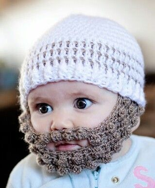 Im Topsy Turvy  Crochet Bobble Beard pattern – multiple sizes-FREE pattern-  How cute is this  19ca653ef66b