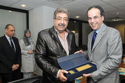 وزير التربية والتعليم السعودي يزور «الشرق الأوسط» في لندن,