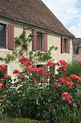 Restored village- Apremont-sur-Allier - Centre, France